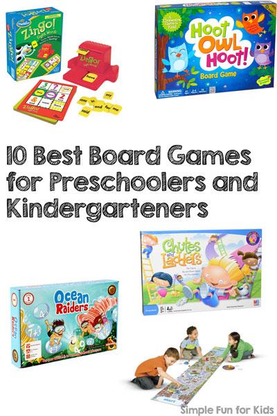 10 Best Board Games for Preschoolers and Kindergarteners
