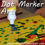 Dot marker art - more than just dots!