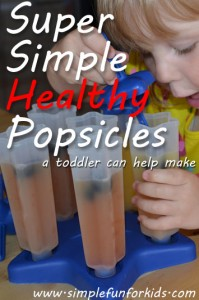 How to Make Super Simple Healthy Popsicles