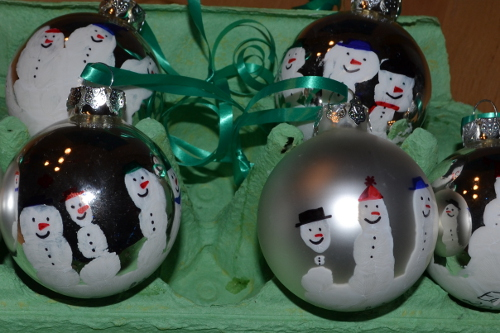 fingerprint snowmen ornaments handprint snowmen ornaments simple for 2019