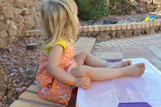 Simple Fun for Kids: Colorful Soap Foam Sensory Bin