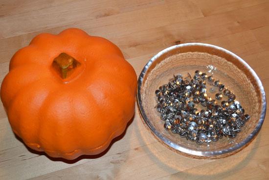 Simple Fun for Kids: Thumbtacked Pumpkins