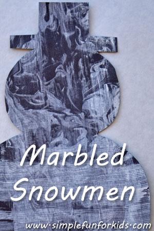 Marbled Snowmen