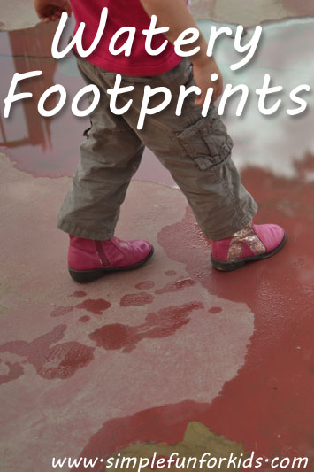 Watery Footprints