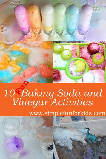 10 Fun Ways to Use Baking Soda and Vinegar