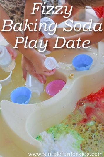 Fizzy Baking Soda Play Date