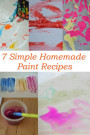 Art for Kids: Try these 7 simple homemade paint recipes!