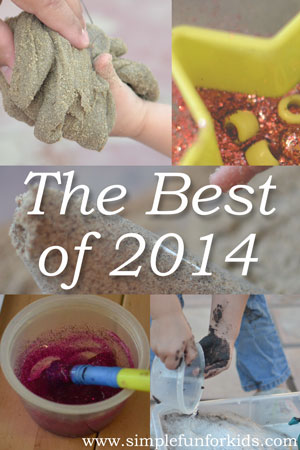 The Best of 2014 on Simple Fun for Kids – the top 5 most popular posts from 2014, plus the most popular older post, and my personal favorite!