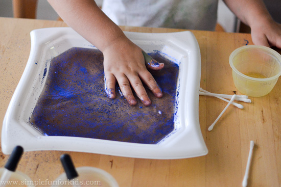 Science for Kids: We tried the magic milk experiment using water - do you think it worked?