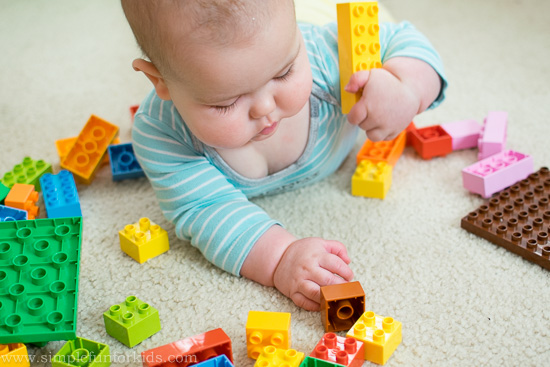 Baby Play With Lego Simple Fun For Kids