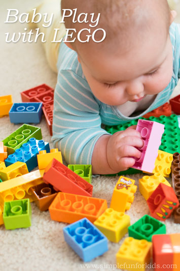 Baby Play with LEGO