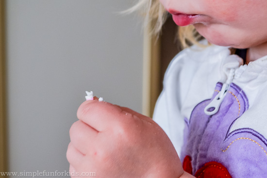 Sensory Activities for Kids: Ice cream dough sensory play with homemade no-cook play dough from two ingredients!
