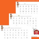 Letter H Maze Printable