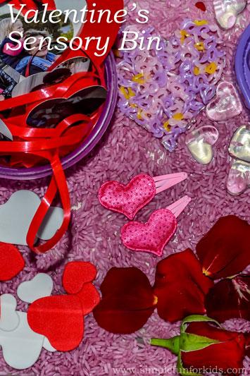 Valentine's Sensory Bin