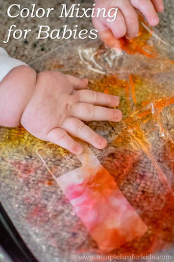 Color Mixing for Babies