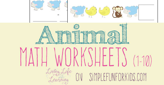 Animal Math Worksheets – Animal Math Worksheets