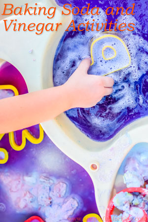 Check out all these fun baking soda and vinegar activities on Simple Fun for Kids!