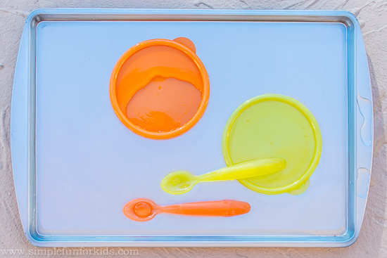 Sensory Activities for Babies: First Baby Play with Water!