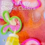 Science for Kids: Colorful Eruptions with Fizzy Easter Cookie Cutters!