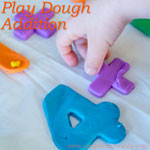 Simple Learning Activities for Kids: Play Dough Addition - math, sensory and fine motor all rolled into one!
