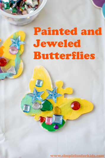 Painted and Jeweled Butterflies