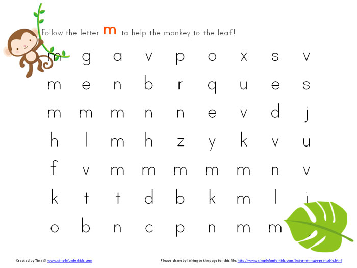 Letter and Alphabet Activities at EnchantedLearningcom