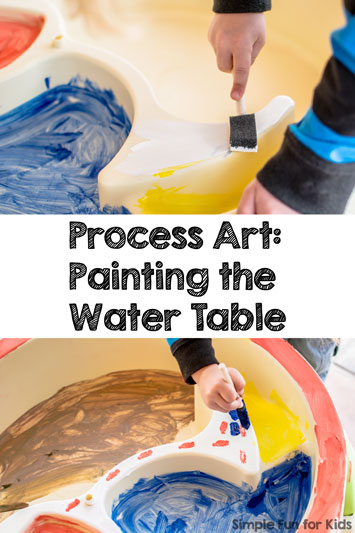 Painting the Water Table