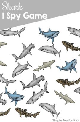 Shark I Spy Game
