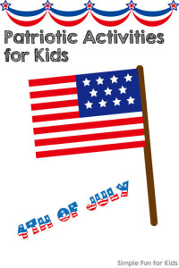 Patriotic Activities for Kids on Simple Fun for Kids!