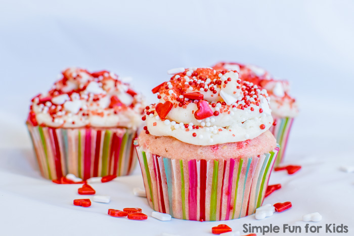 Baking with Kids: Vanilla sprinkle cupcakes are easy to make and DELICIOUS!