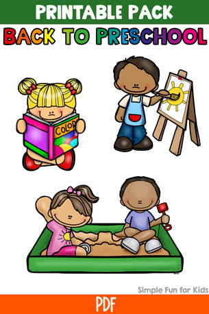 Maisy Goes to Preschool: Back to Preschool Printable Pack