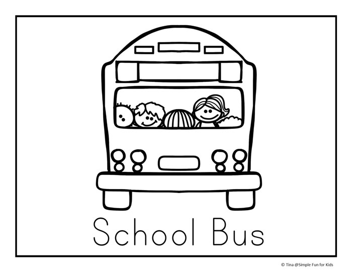 Back to School Coloring Pages - Simple Fun for Kids