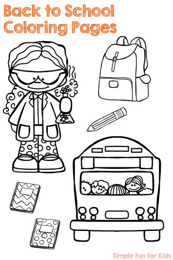 Back to school archives simple fun for kids for Back to school coloring pages printable