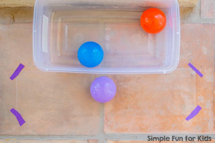 Sensory Activities for Babies: Exploring contact paper!