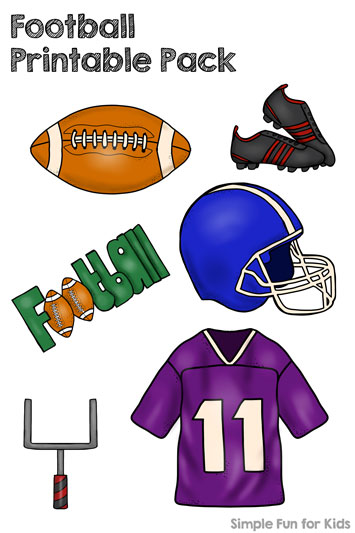 Football Printable Pack