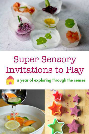 Super Sensory Invitations to Play Ebook
