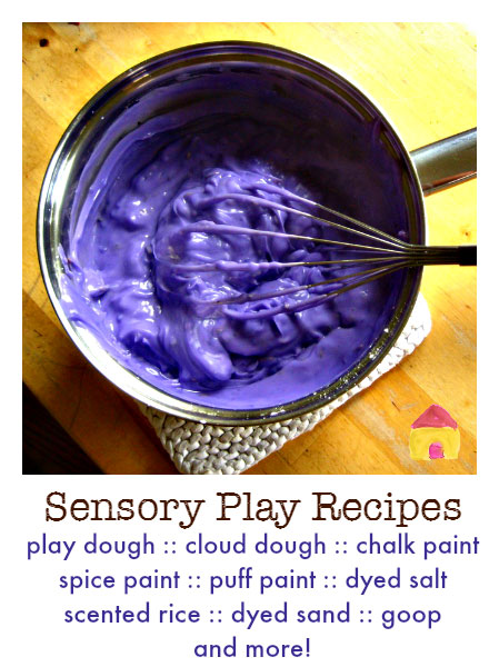Super Sensory Invitations to Play Ebook - 52 awesome activities for a year of sensory fun!