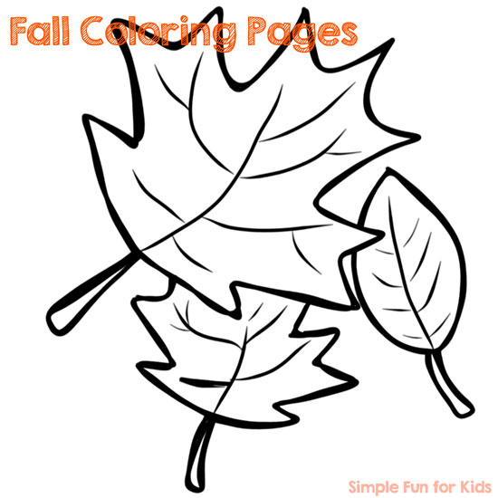 Printables for Kids: Fine motor fun with Fall Coloring Pages!