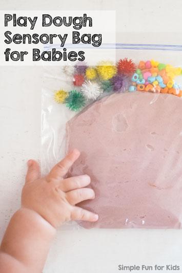 Play Dough Sensory Bag for Babies