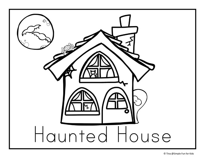 Halloween Coloring Pages Simple Fun for Kids