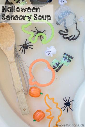 Halloween Sensory Soup