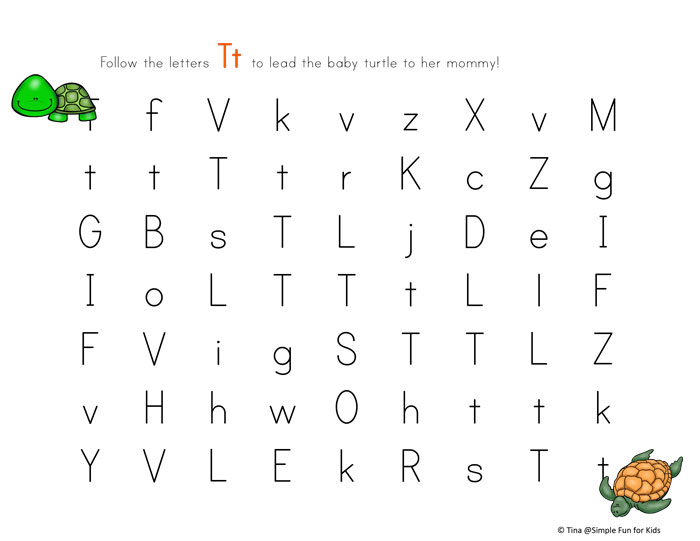 mixed case letter mixed letter 1 mixed letter whats that baboo 349479 c 10352 | letter t maze printable mixed case