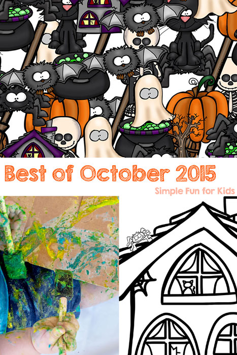 Check out the best new posts of October 2015 on Simple Fun for Kids!
