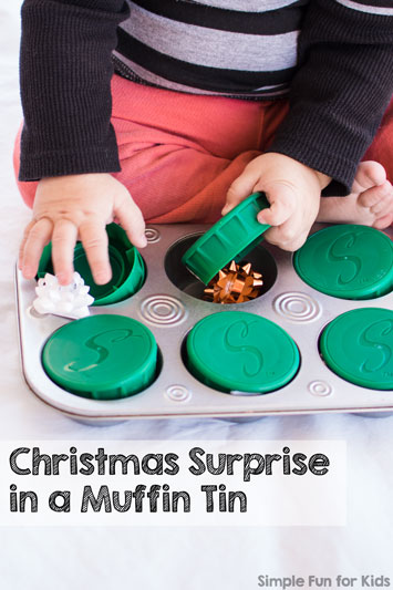 Christmas Surprise in a Muffin Tin