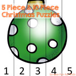 5 Piece and 10 Piece Christmas Puzzles