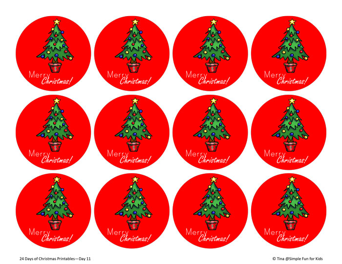 Christmas Toppers For Cupcakes.Christmas Countdown Day 11 Christmas Cupcake Toppers
