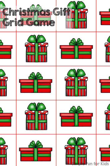 Christmas Countdown Day 2: Christmas Gift Grid Game