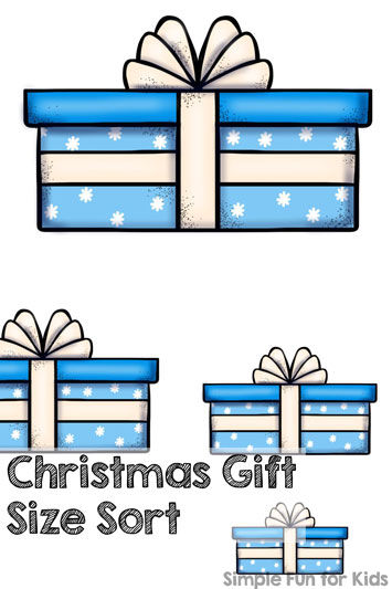 Christmas Countdown Day 23: Christmas Gift Size Sort