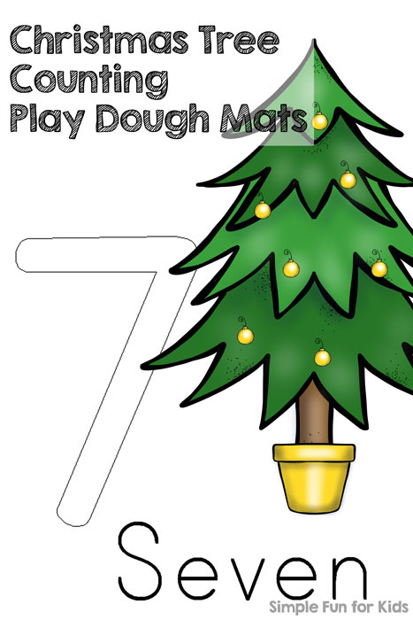 24 Days Of Christmas Printables Make Learning Numbers More Fun And Add A Sensory Component