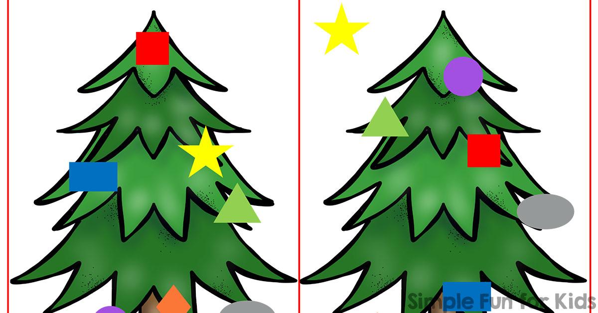 Christmas Countdown Day 17: Christmas Tree Shape Cards - Simple Fun ...